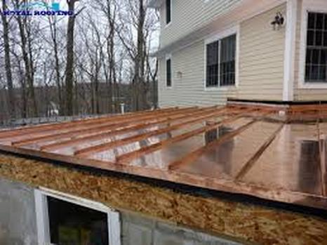Copper Roof Central VA Roofing Contractor